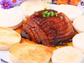 特色荷香扣肉制作方法及配方
